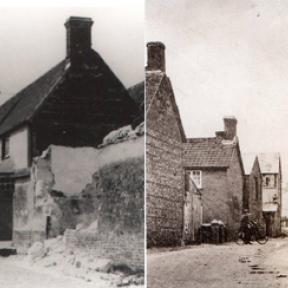 The Old Roebuck and the rebuilt Roebuck