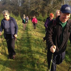 Chalke Valle Nordic Walking