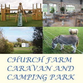 Church Farm Caravan and Campsite in Sixpenny Handley, Dorset