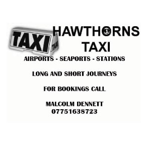 Hawthorns Taxi - airports, seaports, stations, long and short journies