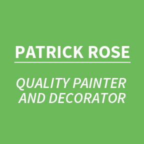 Patrick Rose - Quality Painter and Decorator